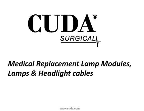 cuda-replacement-lamp-modules-and-lamps-only-no-pricing-1